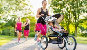 Mit dem Kinderwagen joggen